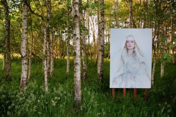 Saskia Wagenvoort; I dreamed of a world with white trees...finally I found her